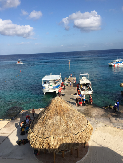 Scuba Club Cozumel Dock
