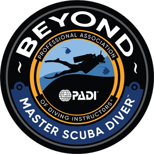 Beyond Master Scuba Diver Badge